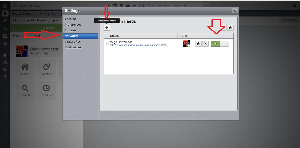 Como compartilhar posts do blog no Google Plus automaticamente.